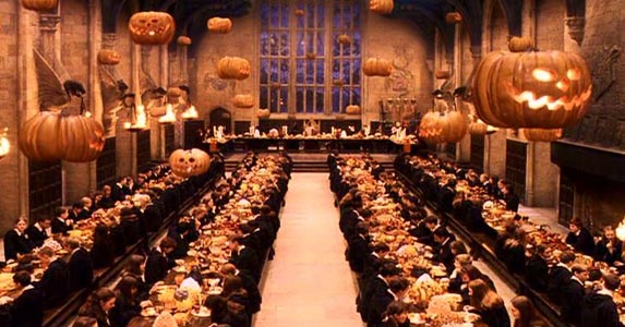 Fiesta de Halloween al estilo Harry Potter
