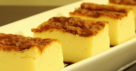 Receta de pastel de queso light