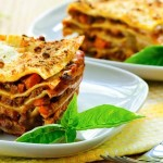 Receta de lasagna vegetariana light