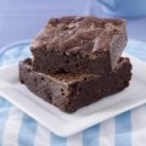 receta de Brownies de Doble Chocolate Bajos en Azucar