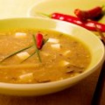 receta de Sopa China Hot and Sour