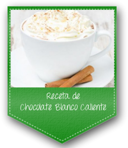 receta de chocolate blanco