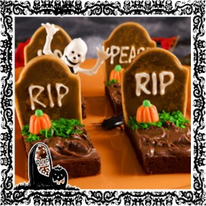 Brownies para Halloween