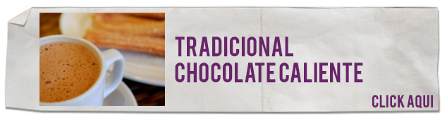 tradicional chocolate caliente