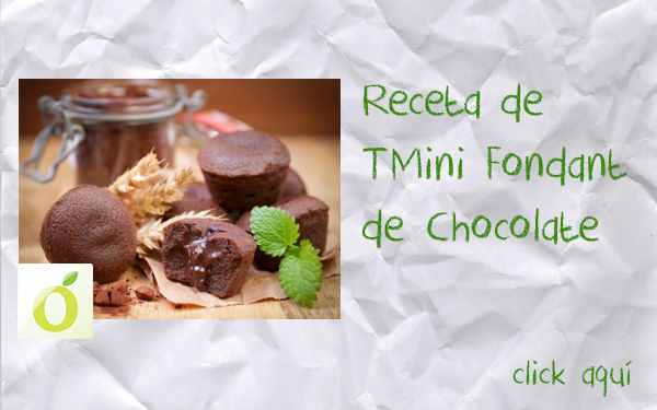 receta de Mini Fondant de Chocolate