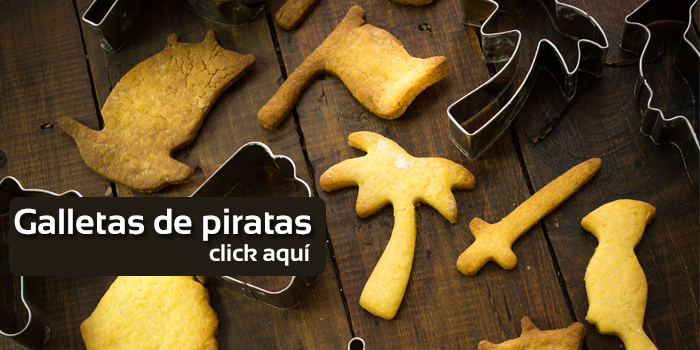 galletas de piratas