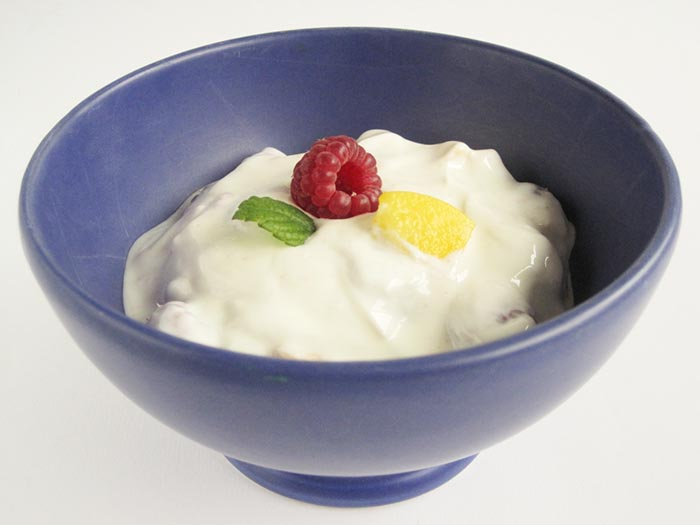 receta de yogurth natural