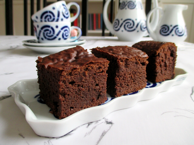 Brownies Sin Horno