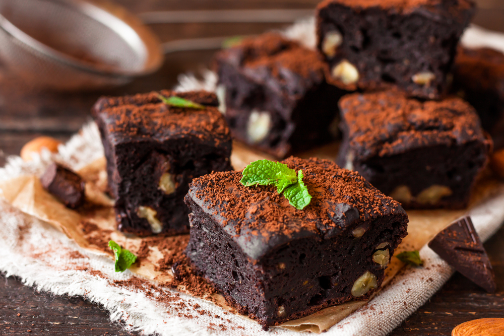 BROWNIES VEGETARIANOS DE FRIJOL